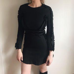 Balmain x H&M Black Mini Dress